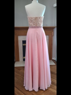 Sherri Hill Pink Size 12 Straight Dress on Queenly
