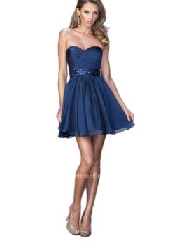 La Femme Blue Size 6 Cocktail Dress on Queenly