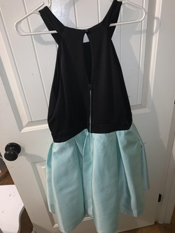 Teeze Me Blue Size 14 Cocktail Dress on Queenly