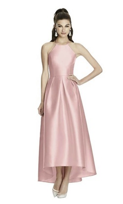 Queenly size 10 Alfred Sung Pink Cocktail evening gown/formal dress