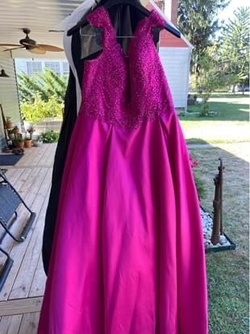 Queenly size 22  Pink Ball gown evening gown/formal dress