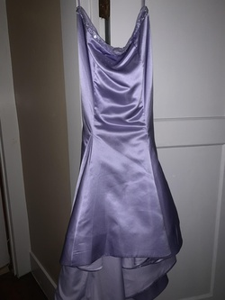 Queenly size 14  Purple Mermaid evening gown/formal dress