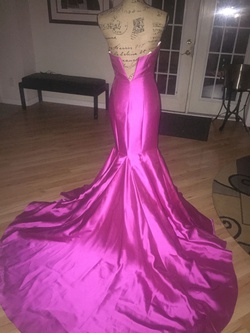 Vienna Pink Size 0 Sweetheart Strapless Mermaid Dress on Queenly