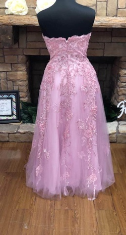 Tony Bowls Pink Size 16 Plus Size A-line Dress on Queenly
