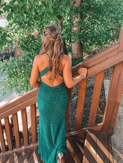 Green Size 6 Side slit Dress on Queenly