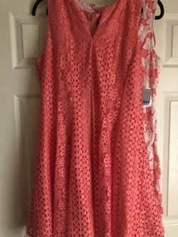 Queenly size 18  Orange Cocktail evening gown/formal dress