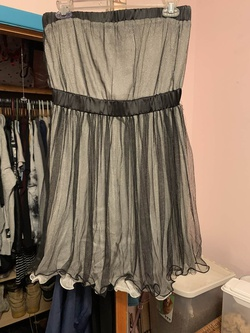 Queenly size 14  Silver Cocktail evening gown/formal dress