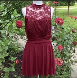 Queenly size 24 Speechless Red Cocktail evening gown/formal dress