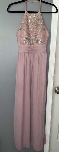 Queenly size 2  Pink Ball gown evening gown/formal dress
