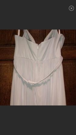 Blue Size 16 Side slit Dress on Queenly