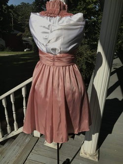 WTOO by Watters Pink Size 2 Ruffles Cocktail Dress on Queenly