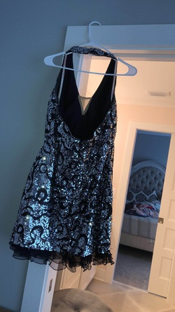 Black Size 14 Straight Dress on Queenly