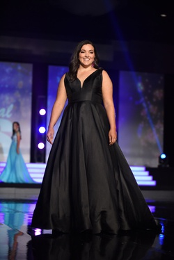 Sherri Hill Black Size 14 A-line Dress on Queenly