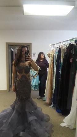 Jovani Multicolor Size 2 Mermaid Dress on Queenly