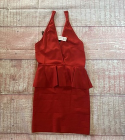 Queenly size 10  Red Cocktail evening gown/formal dress