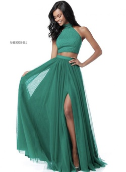 Style 51721 Green Size 4 A-line Dress on Queenly