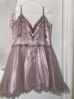 Purple Size 20 A-line Dress on Queenly
