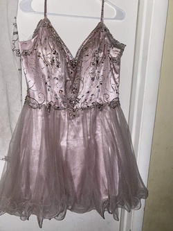 Queenly size 20  Purple A-line evening gown/formal dress