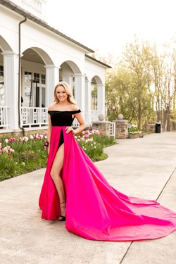 Fernando Wong Pink Size 2 Custom Train Dress on Queenly
