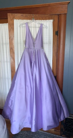 Sherri Hill Purple Size 2 Lavender Mermaid Dress on Queenly