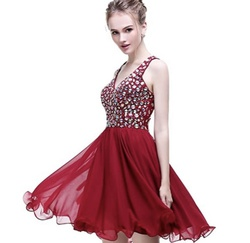 Queenly size 16 Esvor Red Cocktail evening gown/formal dress