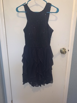 Xtraordinary Blue Size 6 Wedding Guest Cocktail Dress on Queenly
