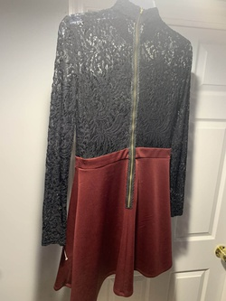 B. Darlin Multicolor Size 4 Tall Height Lace Wedding Guest Cocktail Dress on Queenly