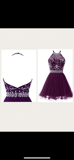 Topdress Purple Size 6 A-line Dress on Queenly
