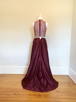 Dave & Johnny Red Size 4 Tall Height A-line Dress on Queenly