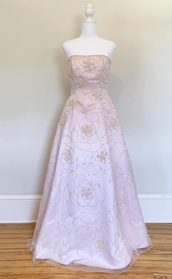Jovani Pink Size 6 Tall Height Ball gown on Queenly