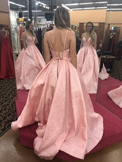 Sherri Hill Pink Size 6 Prom Straight Dress on Queenly