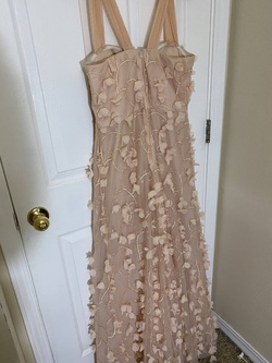 Say Yes to the Prom Light Pink Size 16 Plus Size A-line Dress on Queenly