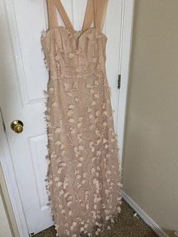 Queenly size 16 Say Yes to the Prom Pink A-line evening gown/formal dress