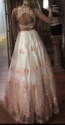 Milano Formals Pink Size 8 Backless Ball gown on Queenly