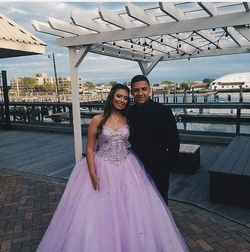 Purple Size 6 Ball gown on Queenly