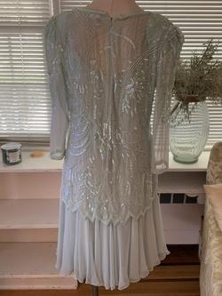 Mezza Luna Green Size 12 A-line Dress on Queenly