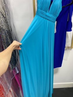 Jovani Blue Size 00 Straight Dress on Queenly
