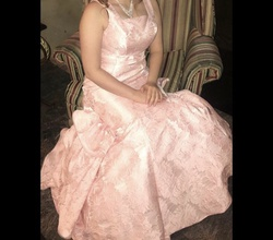 Pink Size 8 Mermaid Dress on Queenly