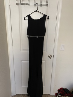 Queenly size 0  Black Mermaid evening gown/formal dress