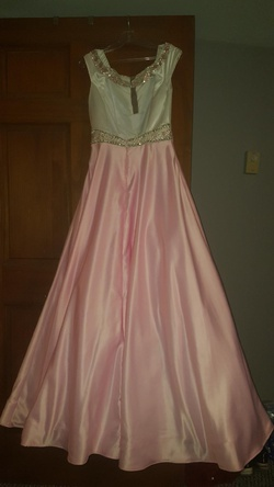 Sherri Hill Pink Size 8 Tall Height Ball gown on Queenly