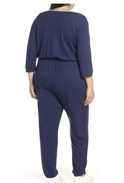 Caslon Blue Size 26 Jumpsuit Plus Size Romper/Jumpsuit Dress on Queenly