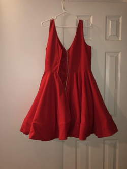 Camille La Vie Red Size 14 Sorority Formal Wedding Guest Cocktail Dress on Queenly