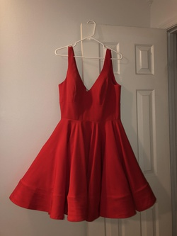 Queenly size 14 Camille La Vie Red Cocktail evening gown/formal dress