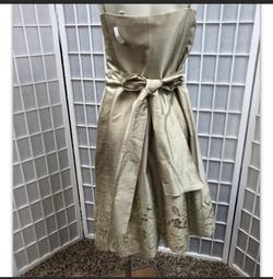 Liz Elana Gold Size 10 A-line Dress on Queenly
