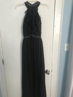 Black Size 2 Straight Dress on Queenly