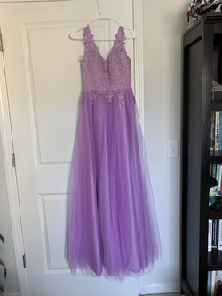 Purple Size 0 A-line Dress on Queenly