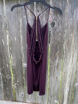 City Triangles Purple Size 0 Sorority Formal Wedding Guest Cocktail Dress on Queenly