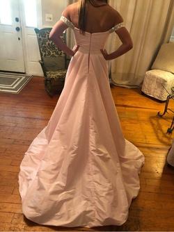 Dandan Li Pink Size 00 Overskirt Train Dress on Queenly