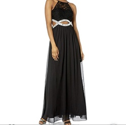 Queenly size 4 Speechless Black Straight evening gown/formal dress