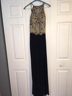 Multicolor Size 10 Side slit Dress on Queenly